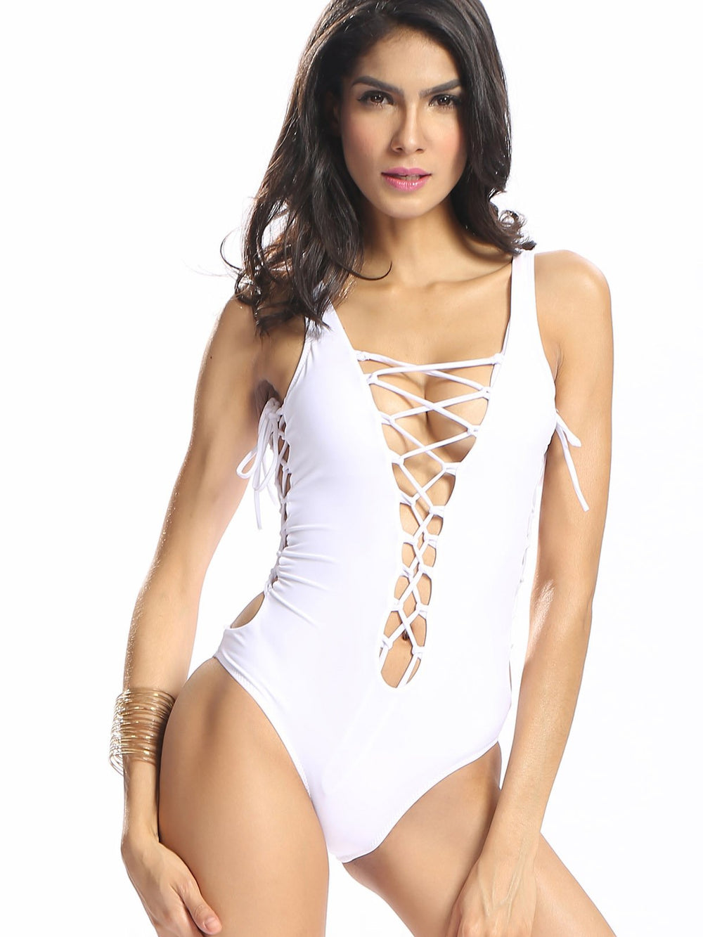 Ladies Sleeveless One-Pieces