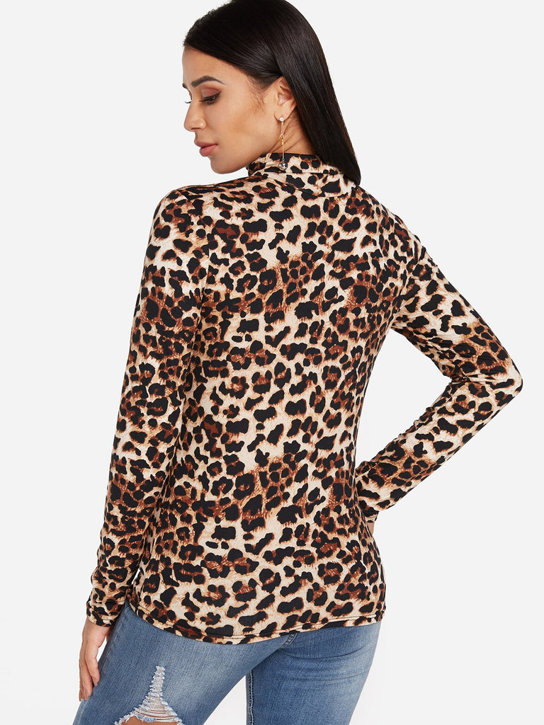 Womens Leopard T-Shirts