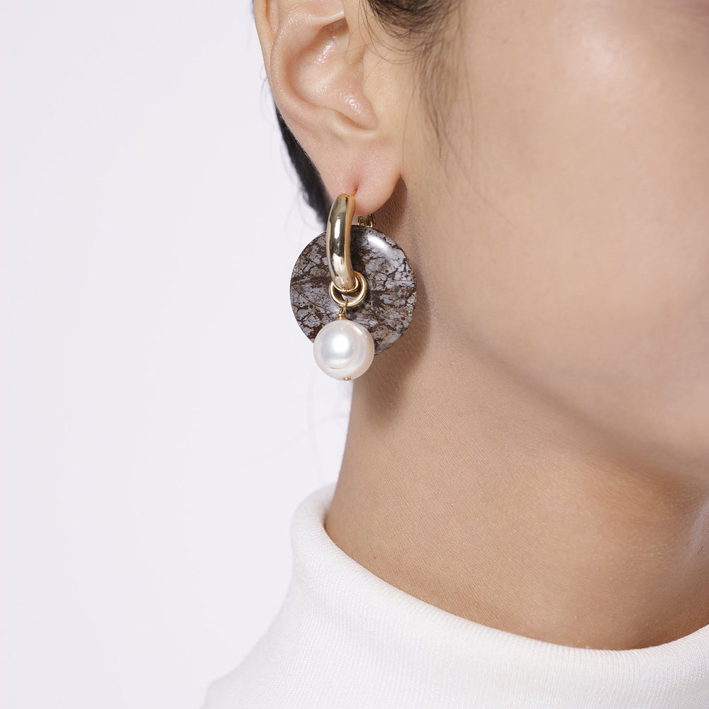 Wearing Mismatched Earrings