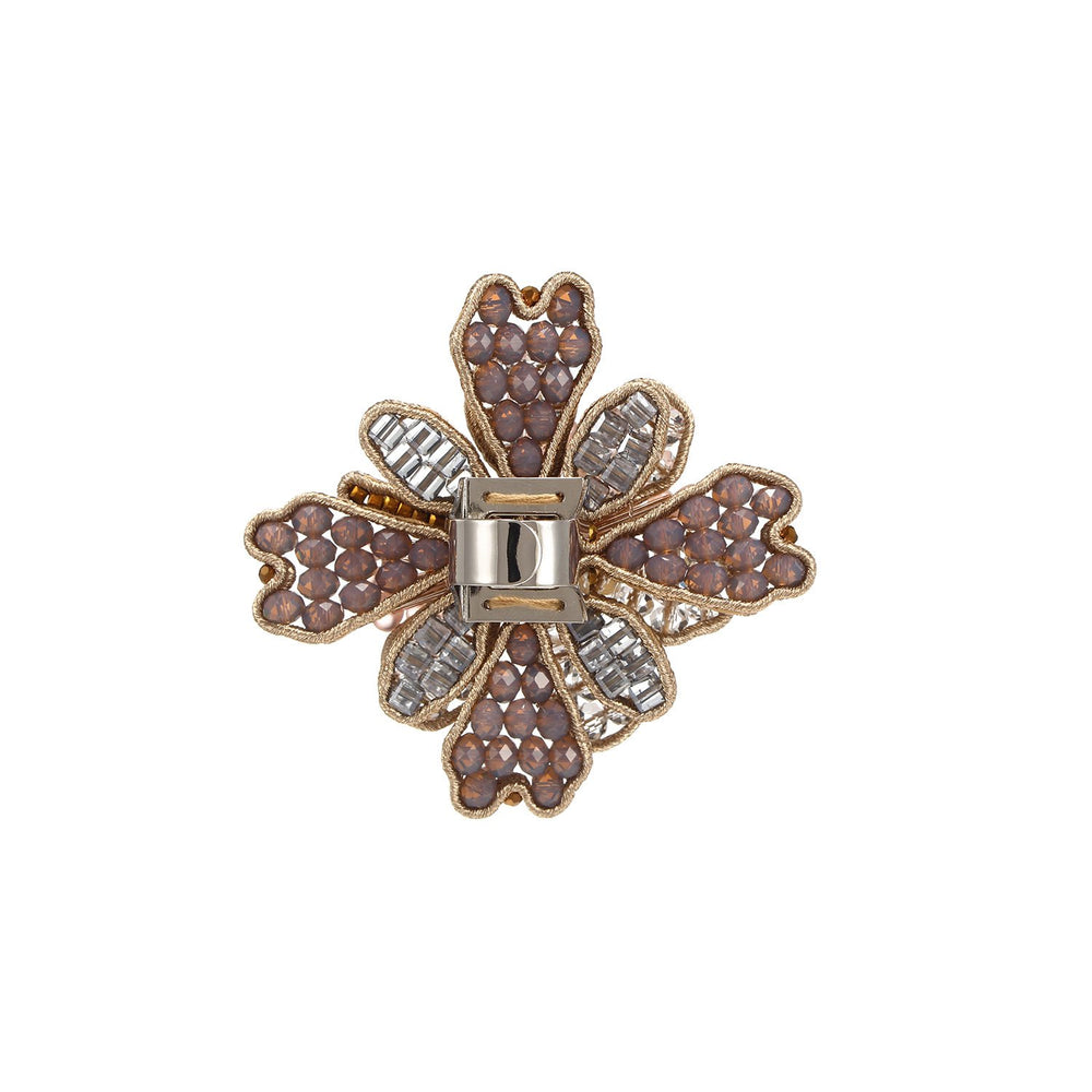 Unique Handmade Flower Oversized Ring