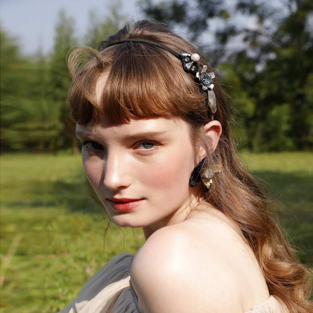 Unique Flower Headband