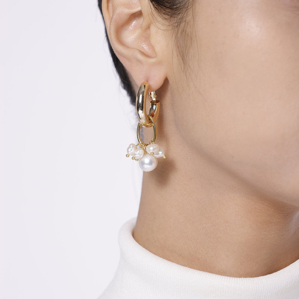 Asymmetrical Dangle Earrings