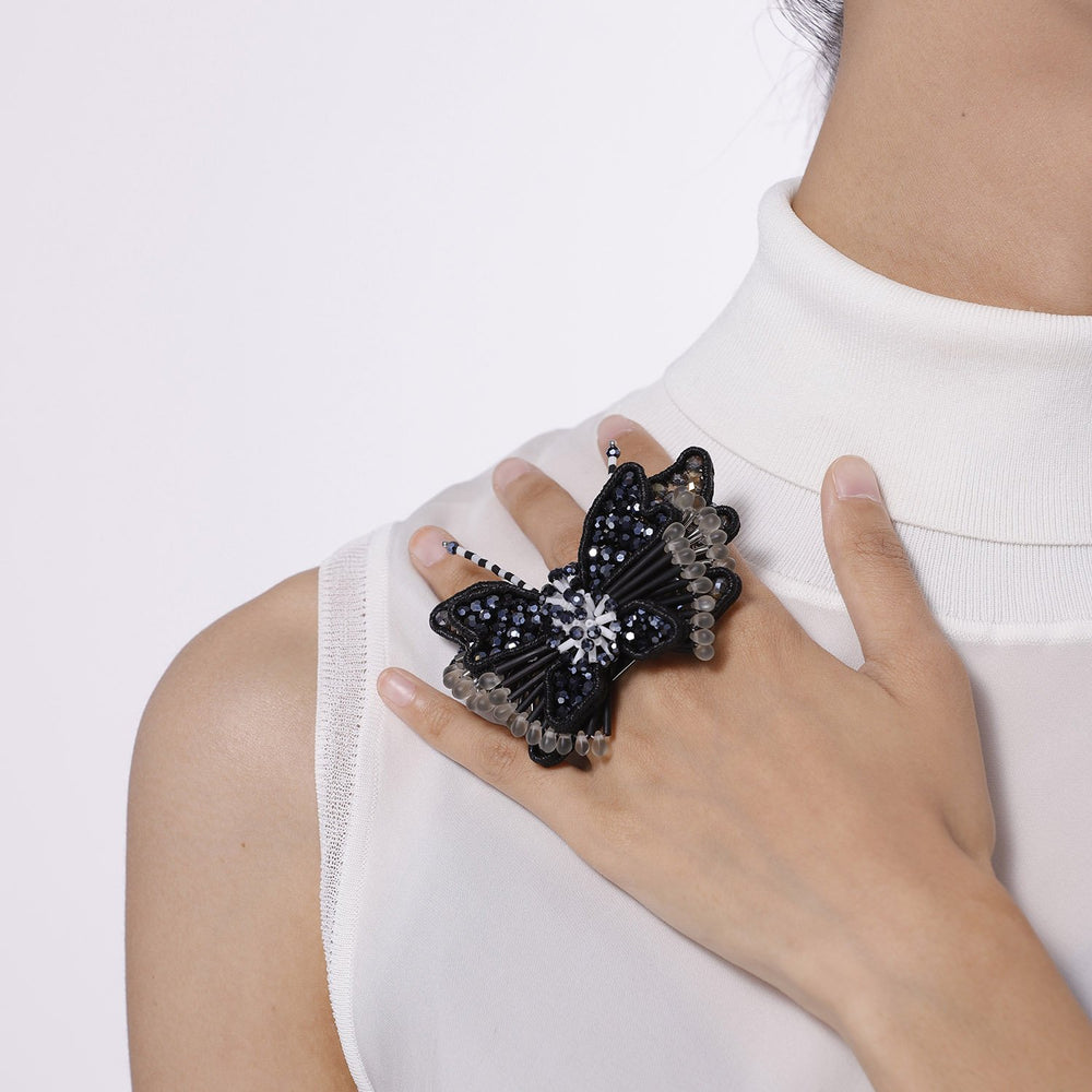 Oversized Butterfly Ring
