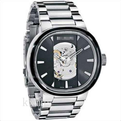 Classy Inexpensive Solid Steel Watch Band A089-000_K0027941