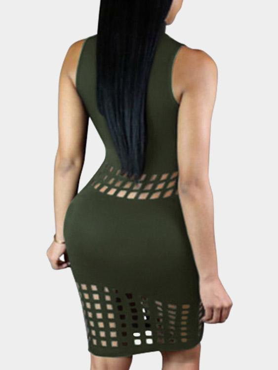 Womens Green Bodycon Dresses