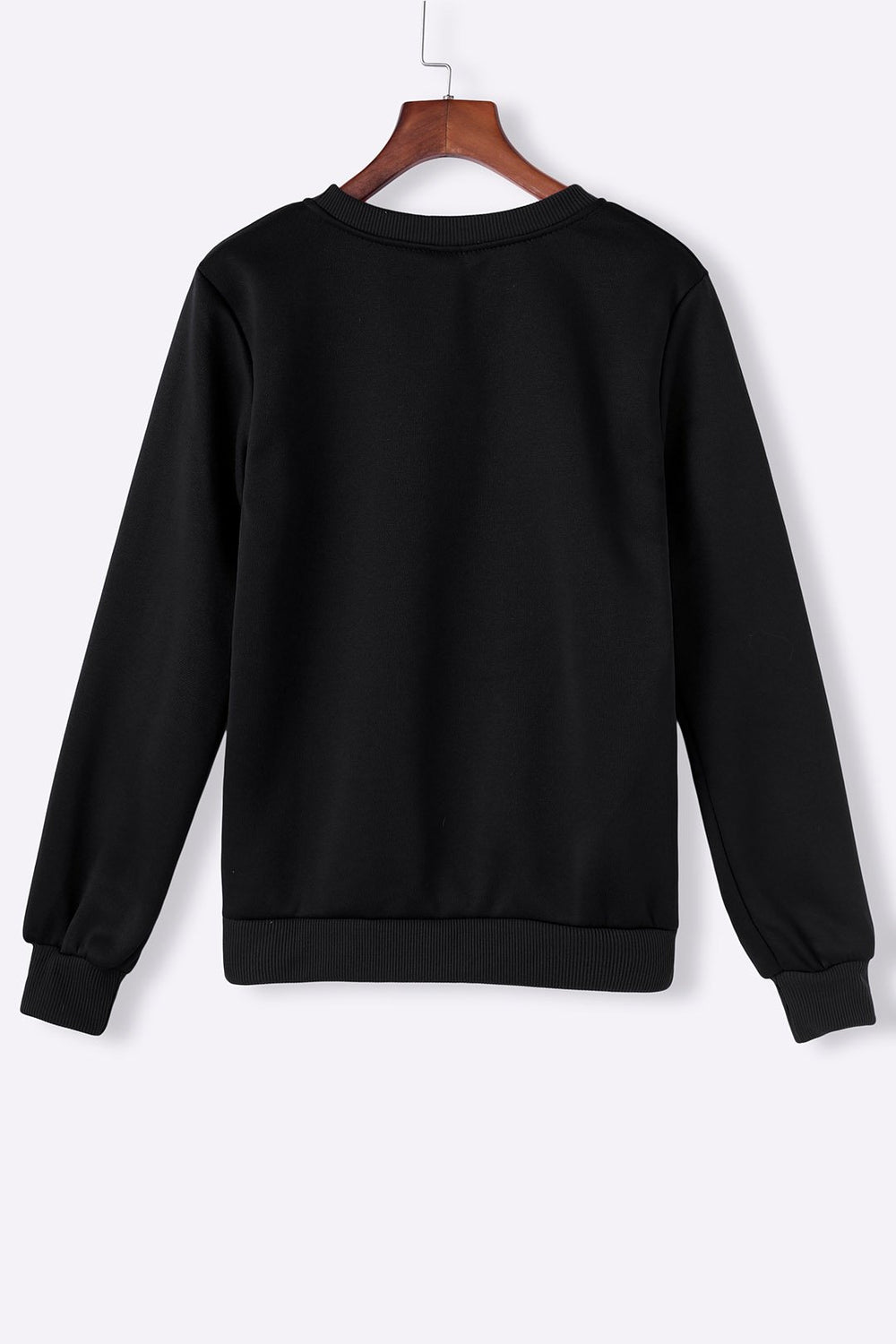 Ladies Black Sweatshirts