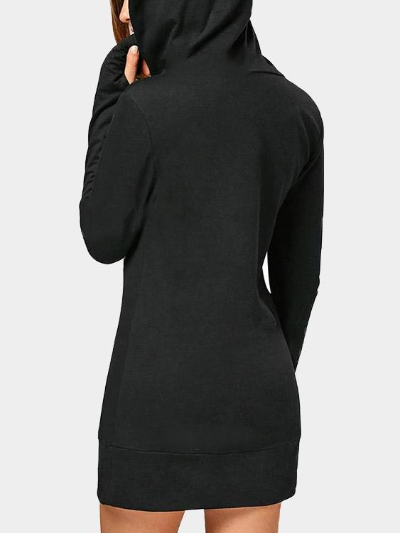 Womens Black Sweatshirts