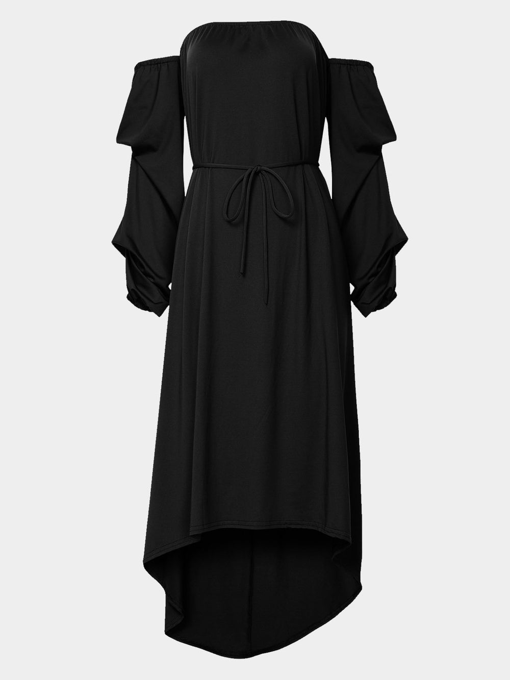 Womens Black Off The Shoulder Dresses