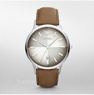 Inexpensive Leather Watch Strap AR2470_K0000768