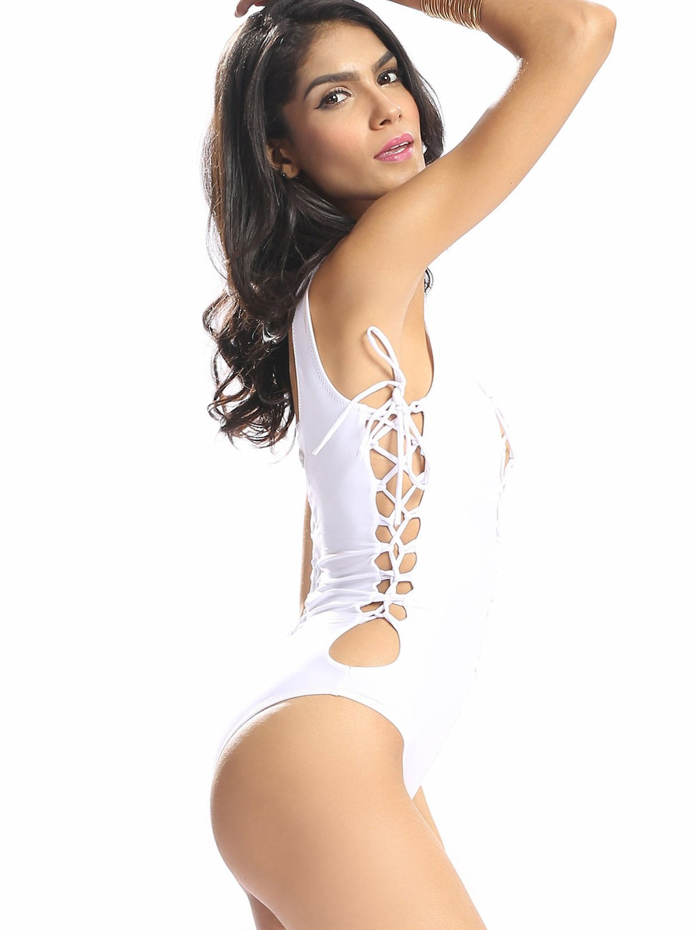 Ladies White One-Pieces