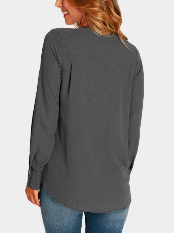 Womens Grey Blouses