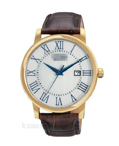 Discount Classic Leather Wristwatch Strap BM6752-02A_K0001616