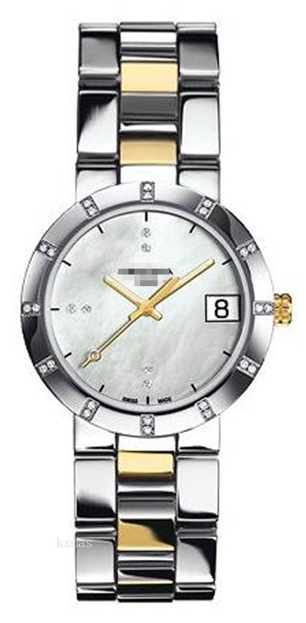 Wholesale Awesome Steel Two Tone 18 mm Watches Band C009.210.22.116.00_K0018256