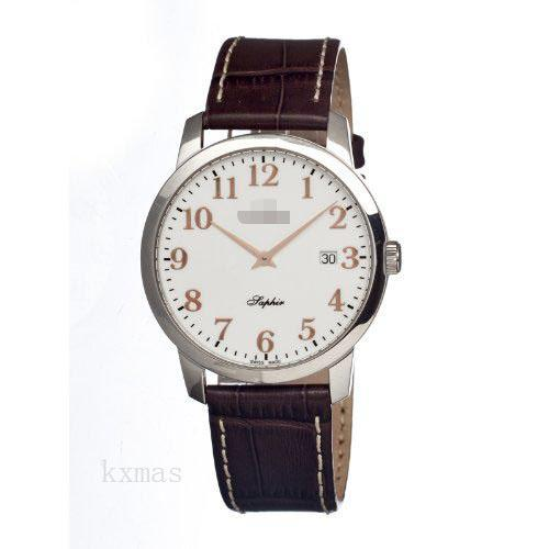 Classy Affordable Leather 18 mm Watch Strap C4410-1_K0010463