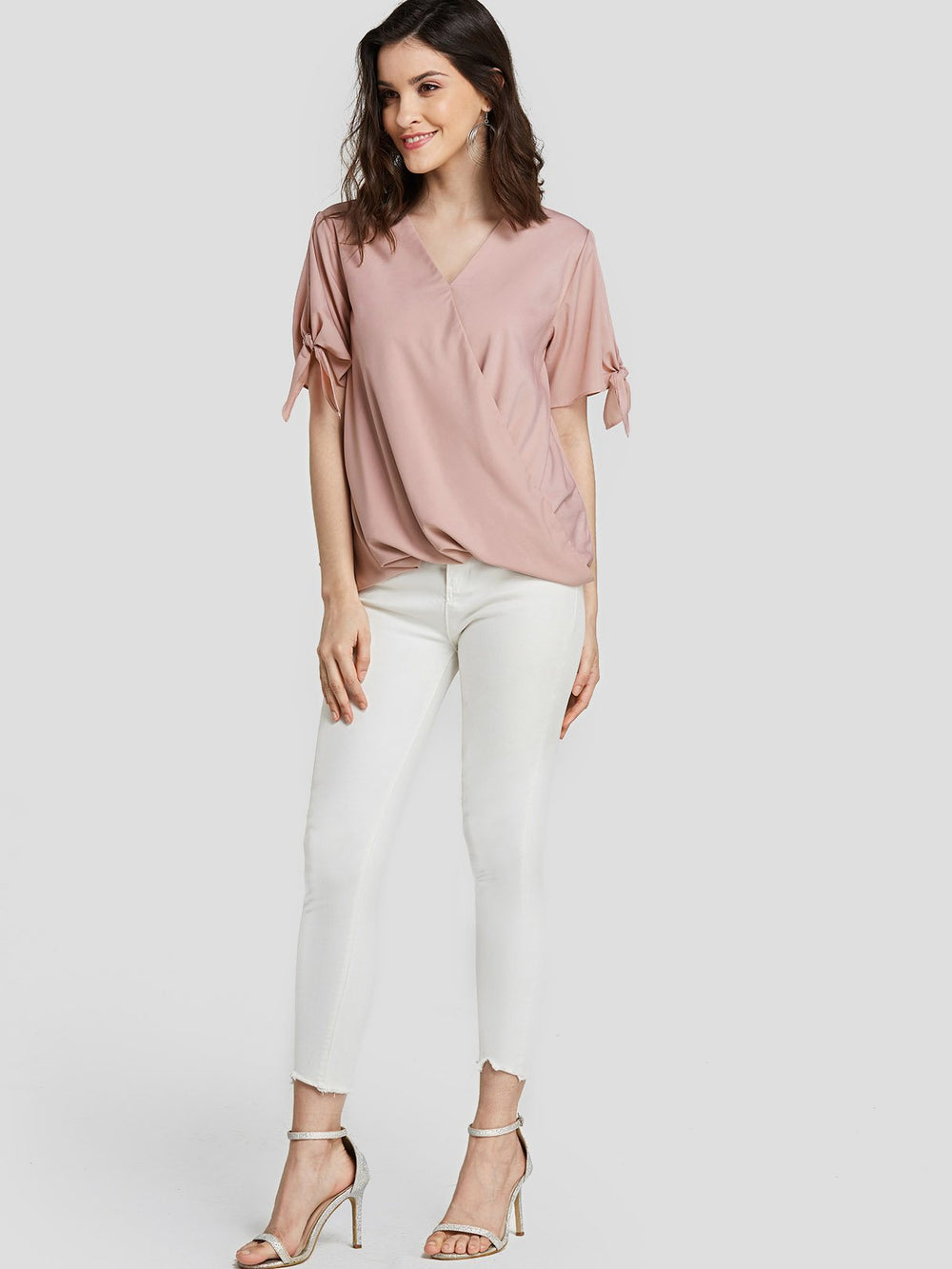 Womens Pink Blouses