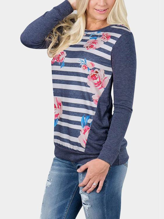 Ladies Navy T-Shirts