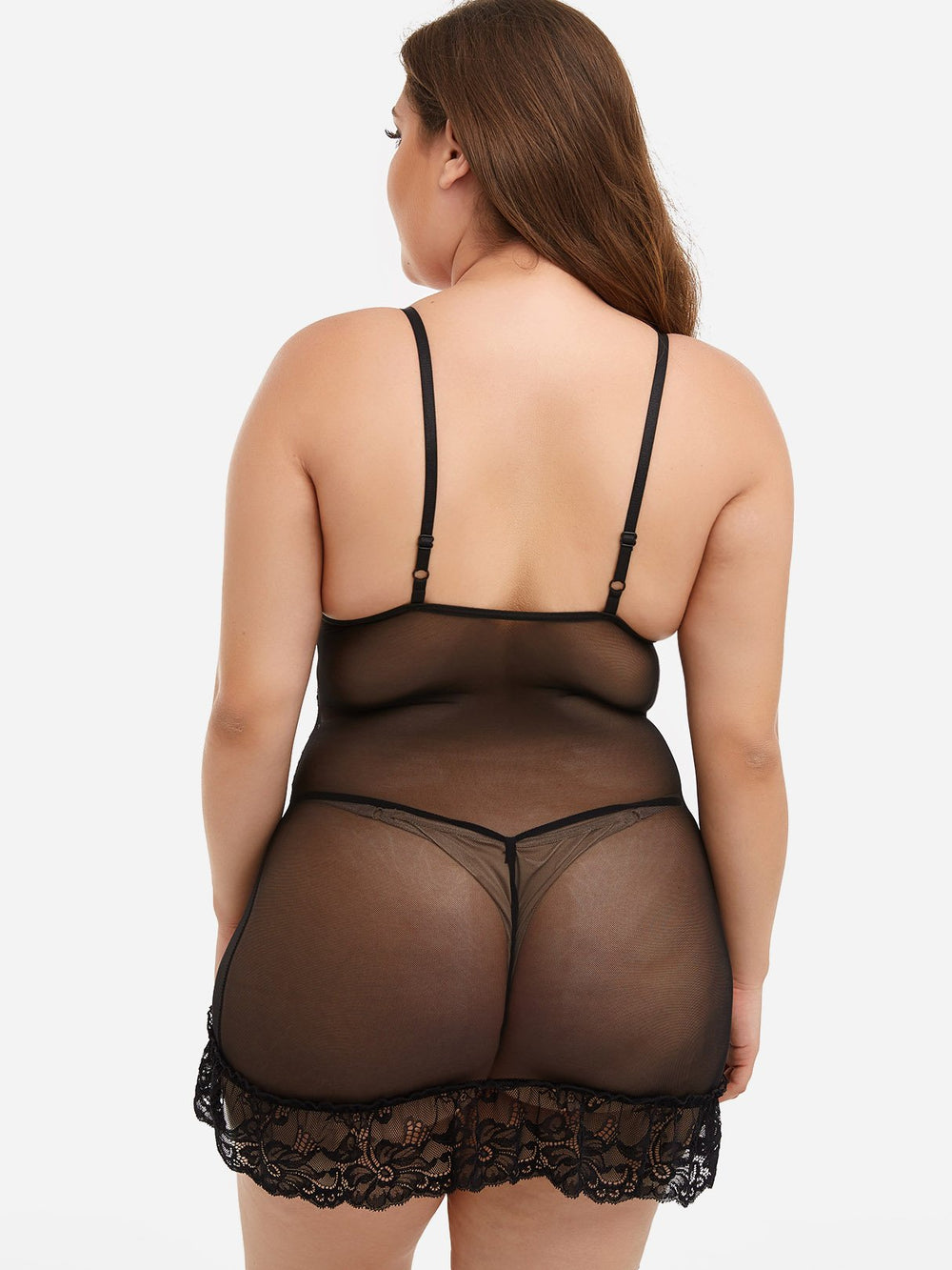 Womens Black Plus Size Intimates