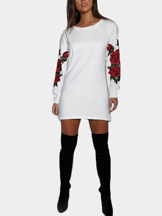 Womens White Shirt Dresses