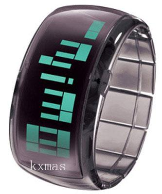 Wholesale Great Translucent Black Expansion Polycarbonate Watch Band DD101-5_K0042015
