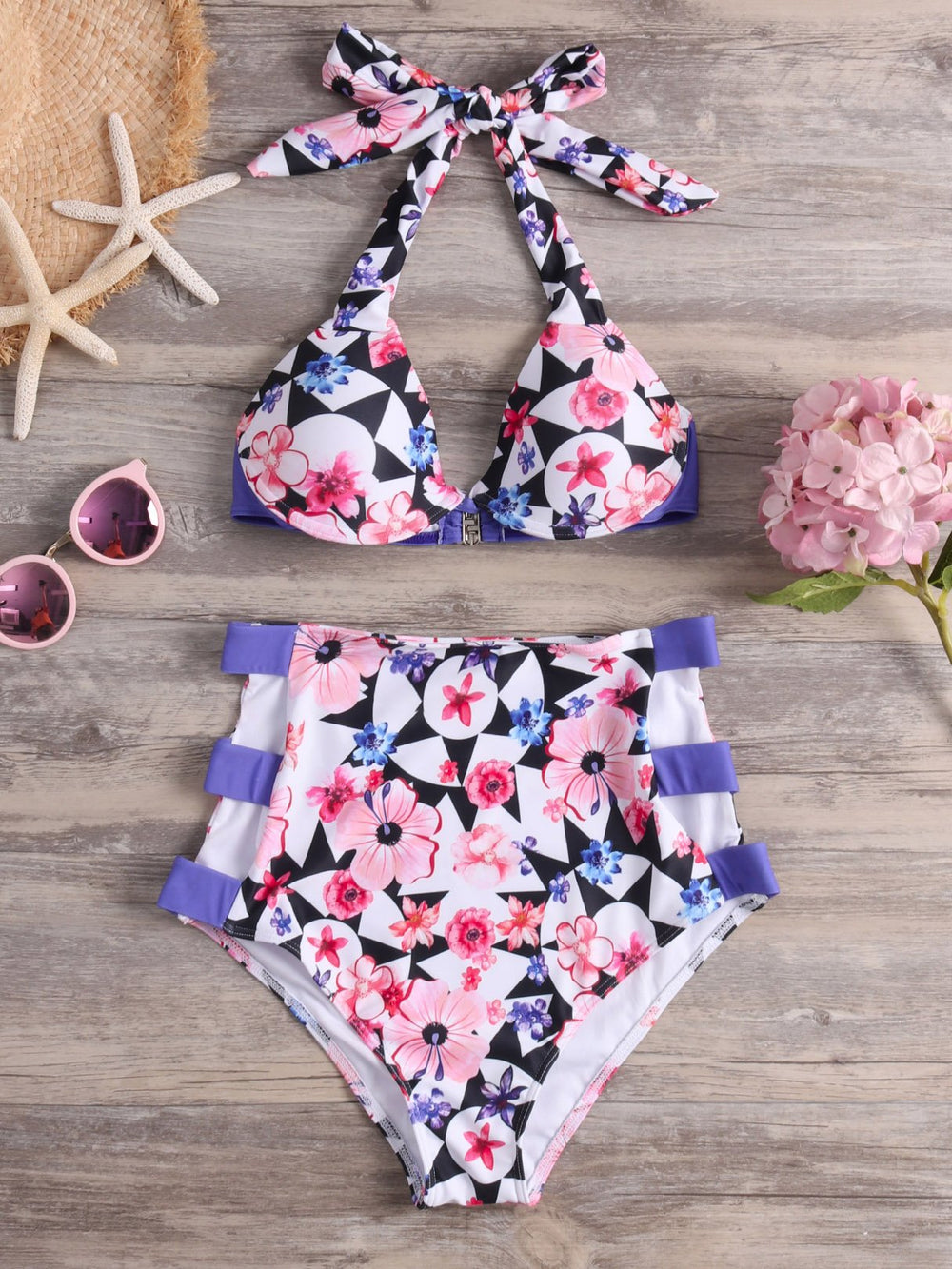 Womens Sleeveless Bikini Set