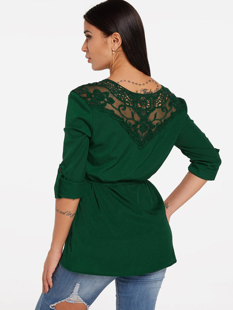 Womens Green Blouses