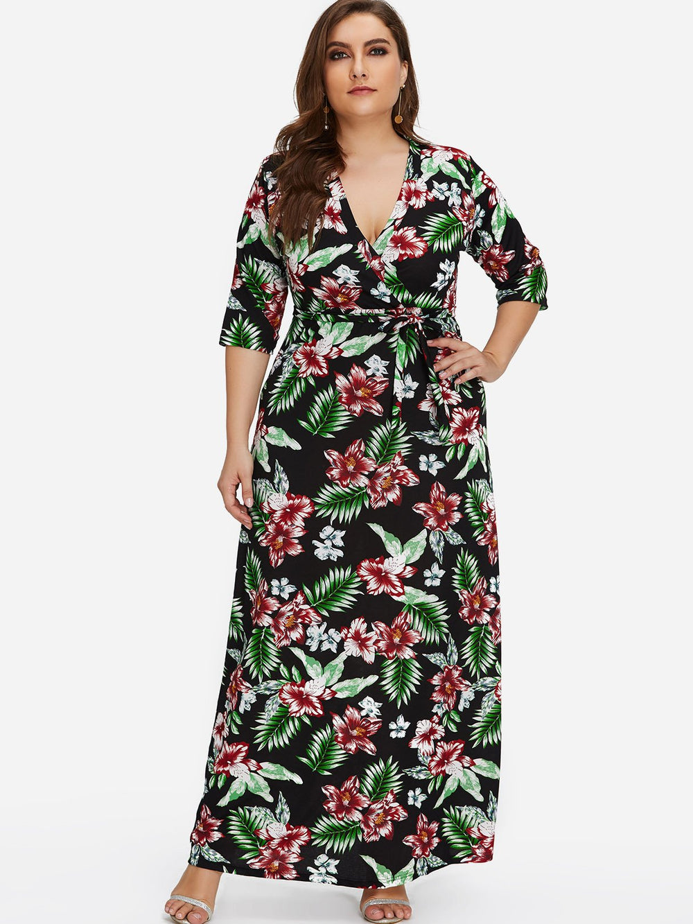 Sexy Plus Size Maxi Dresses