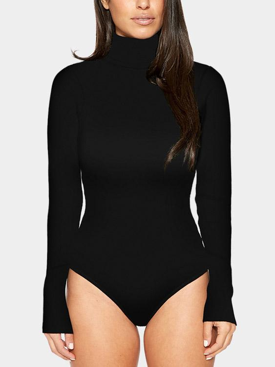 Ladies Long Sleeve Bodysuits