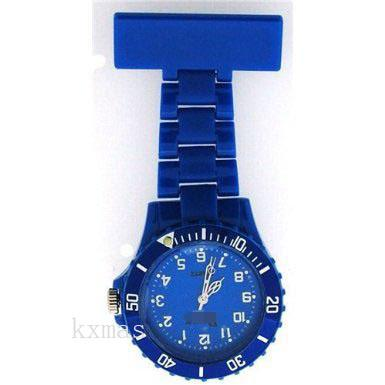 Wholesale Good Looking Plastic Replacement Watch Band F043-BLUE_K0035412