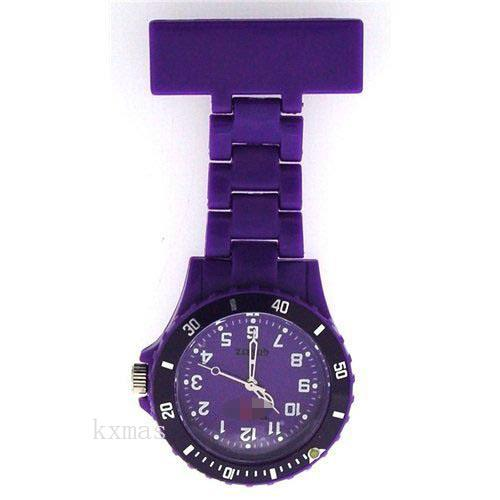 Wholesale Fashion Plastic Watch Wristband F043-PURPLE_K0035411
