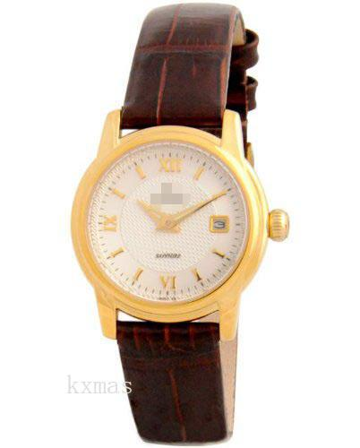Discount Elegant Leather 17 mm Watch Strap F16007/2_K0022250