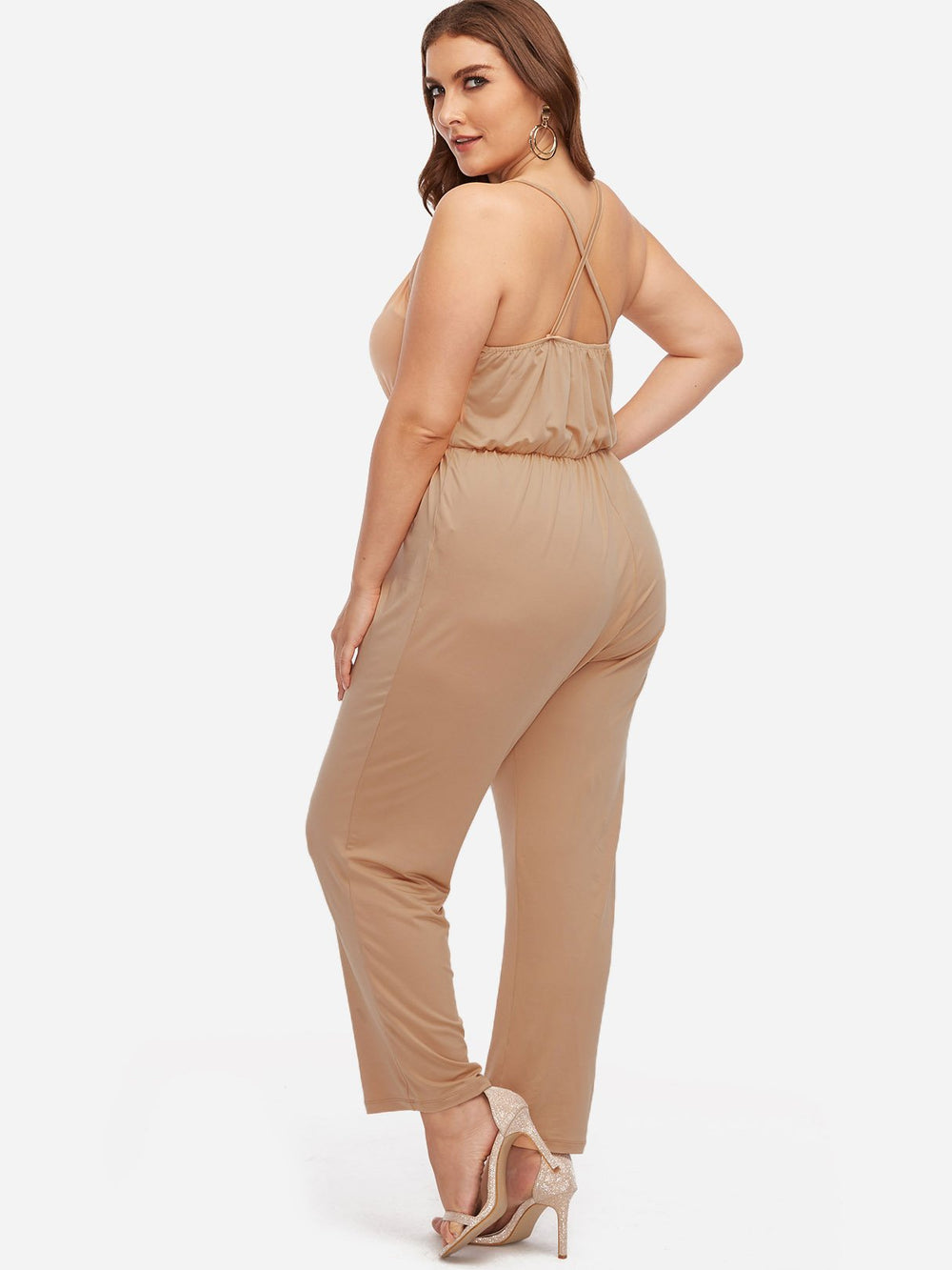 Womens Khaki Plus Size Bottoms