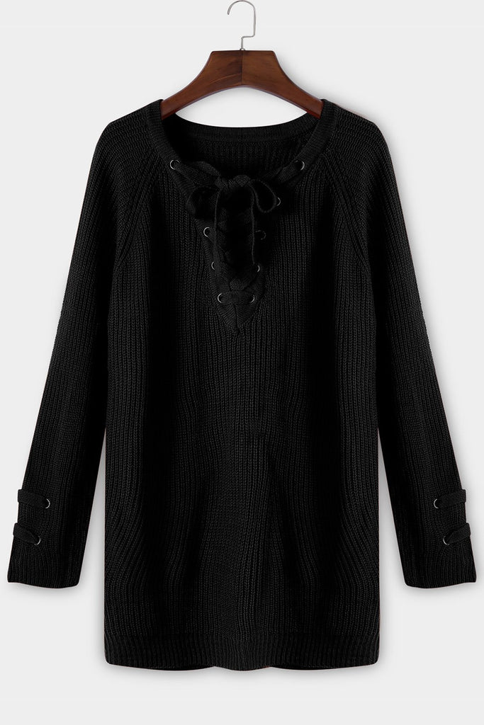 Womens Black Sweaters