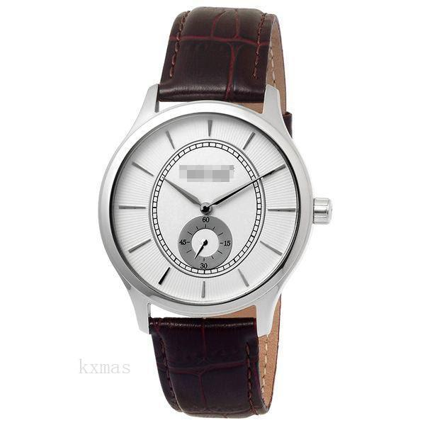 Affordable Classic Leather Wristwatch Band FYH433ZWA_K0010105