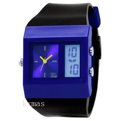 Affordable Designer PVC Wristwatch Strap HL57-BKN_K0039139