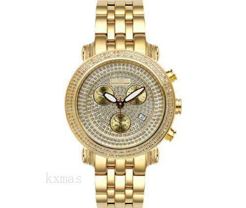 Wholesale Luxurious 18Ct Yellow Gold 22 mm Watch Bracelet JCL19_K0030715