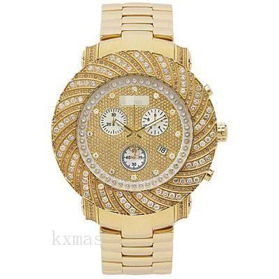 Wholesale Famous 18Ct Yellow Gold 22 mm Watch Wristband JJU160_K0031098