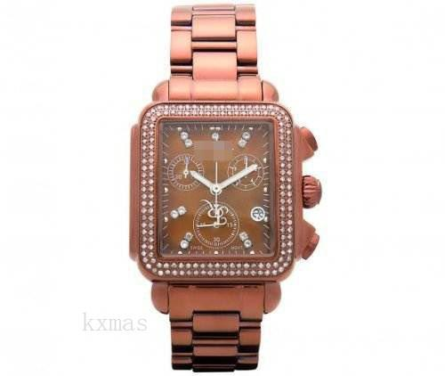 Wholesale Quality Rose Gold 18 mm Replacement Watch Band JRMD200_K0030995