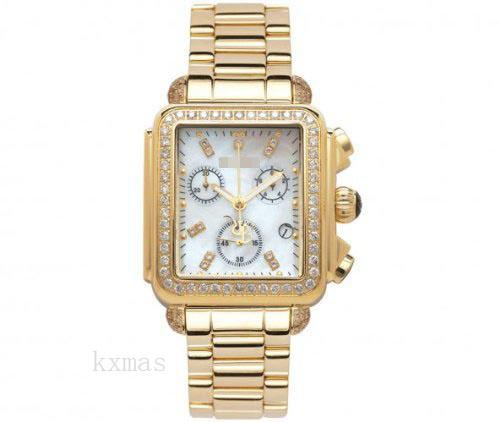 Wholesale Elegant 18Ct Yellow Gold 18 mm Watches Band JRMD31_K0030990