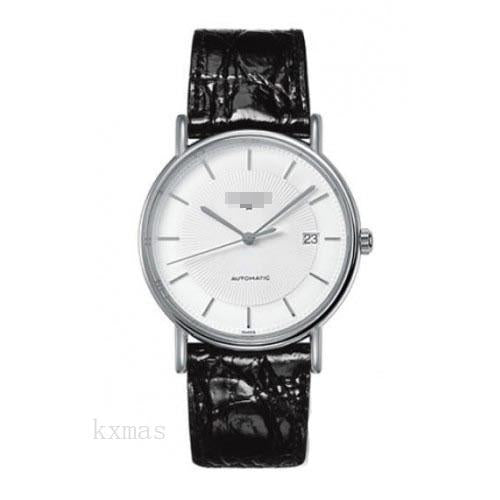 Casual Leather Watch Strap L4.921.4.18.2_K0002180