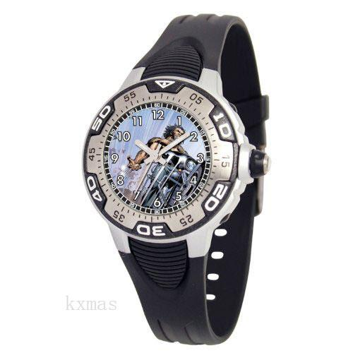 Wholesale OEM Plastic 18 mm Watch Strap MA0108-D385-BLACK_K0026239