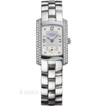 Quality Inexpensive 18Kt White Gold Polished Watch Band MOA08099_K0007605