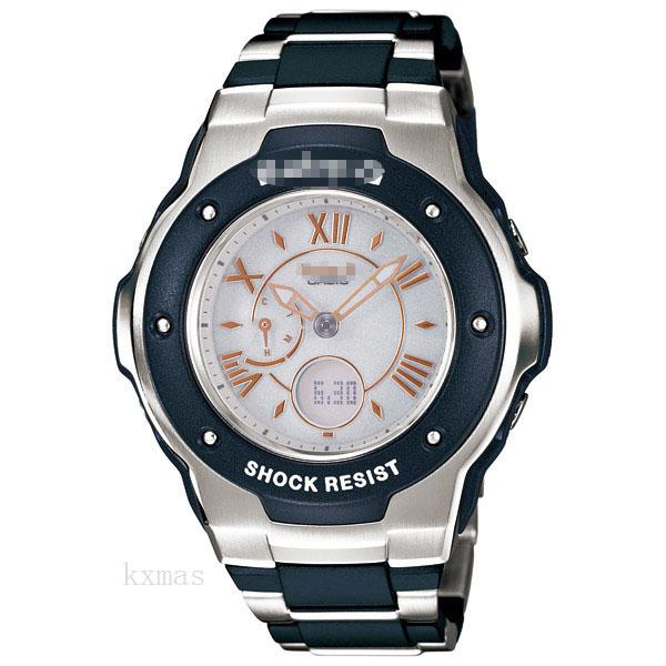 Vive Fashion Resin/ Stainless Steel Watch Band MSG-3200C-2BJF_K0002010