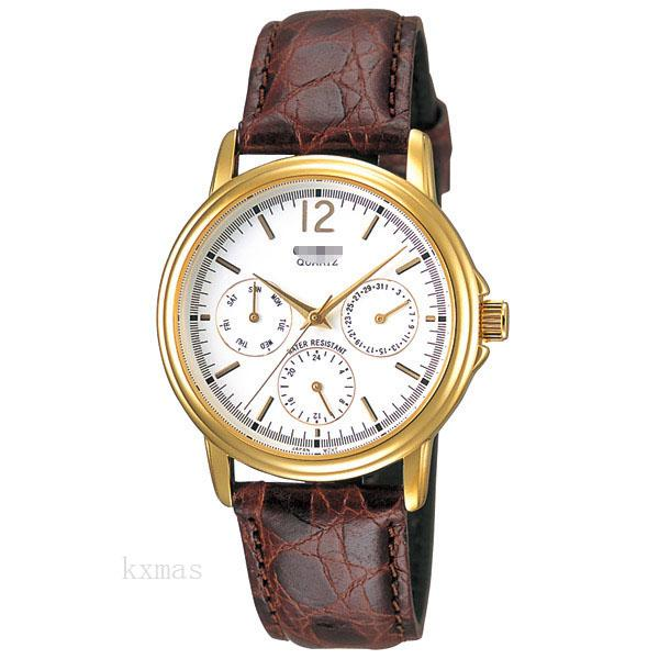 Unique Elegant Leather Watch Strap MTP-1174Q-7AJF_K0002005
