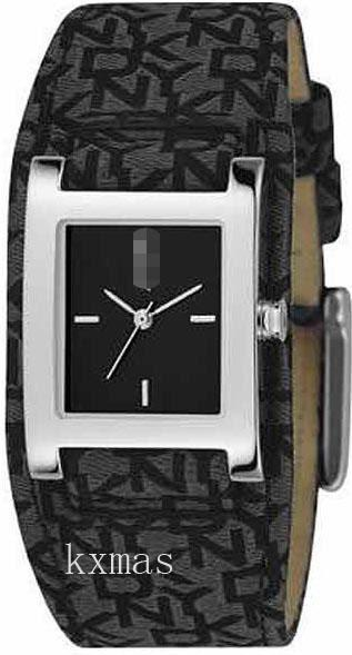 Cheap Wholesale Black Logo Ribbon Replacement Watch Band NY3438_K0037832