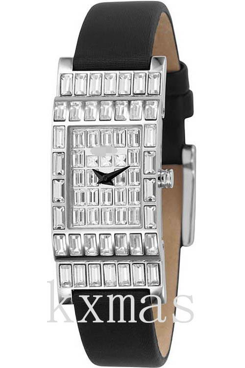 Elegant Black Polyester Strap Replacement Watch Band NY4275_K0037674