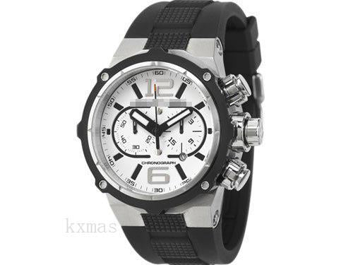 Inexpensive Luxury Rubber 22 mm Watches Band OT1030-11W_K0026818