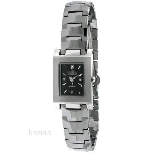 Discount Good Looking Tungsten 13 mm Watch Band PS860L_K0027661