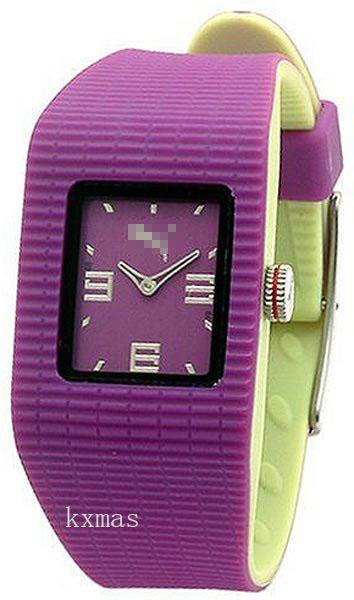 Comfortable Two Tone Rubber Wristwatch Band PU202PR.0036.906_K0037528