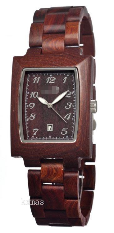 Extremely Cheap Wood 20 mm Replacement Watch Strap SEGO03_K0005168