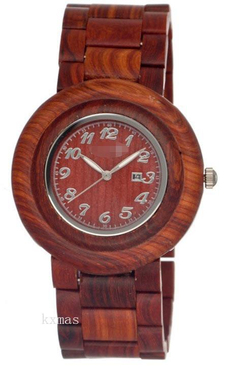 Discount Elegant Wood 25 mm Replacement Watch Strap SERO03_K0005155